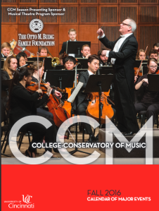 Click on the image above to view CCM's Fall 2016 Calendar Booklet.