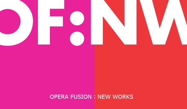 Logo for the Opera Fusion: New Works program.