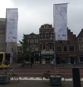 The International Computer Music Conference was recently held in Utrecht, Netherlands. Photo provided by Mike Lukaszuk.