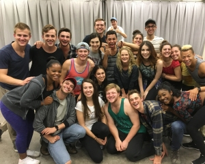 """CCM Musical Theatre students in """"Runaways"""", co-produced by the Know Theatre."""