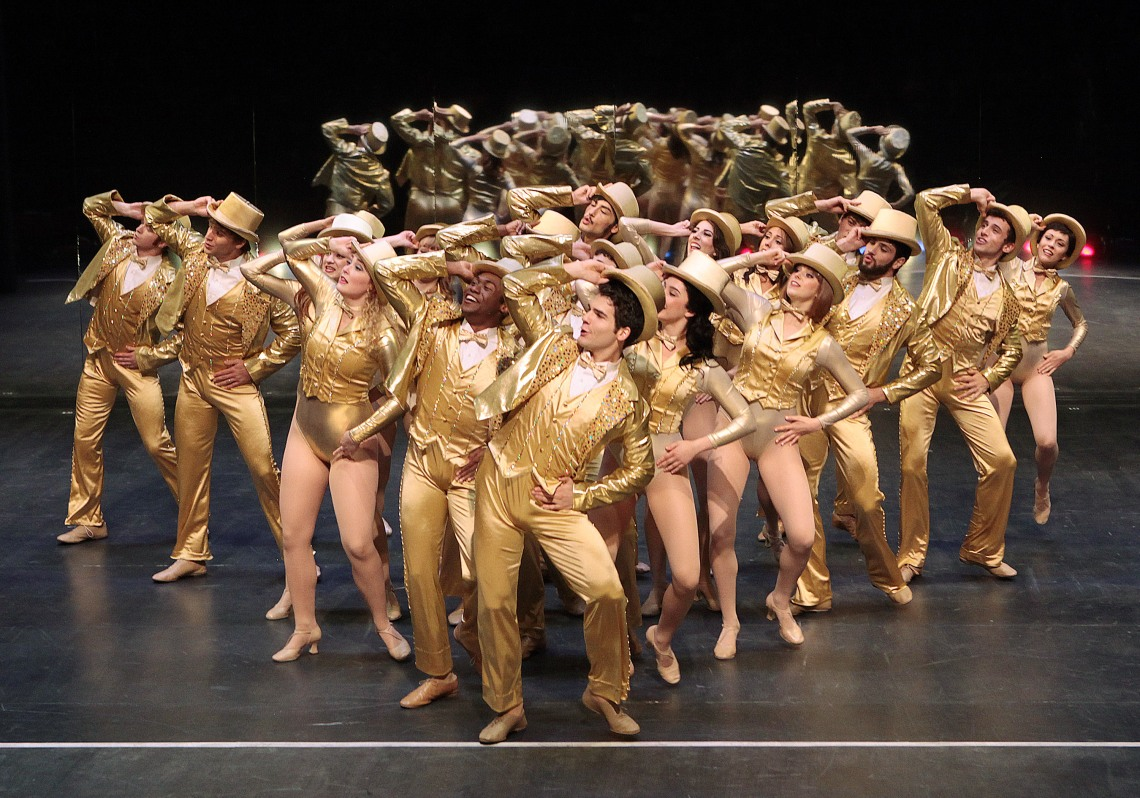 "CCM presents ""A Chorus Line"" Oct. 20-30 in Patricia Corbett Theater. Photo by Mark Lyons."