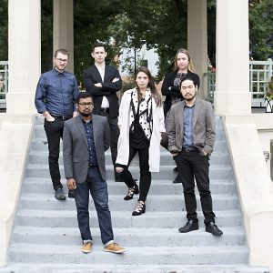 CCM students and alumni in All of the Above, a chamber music group recently named ensemble-in-residence at Xavier University.