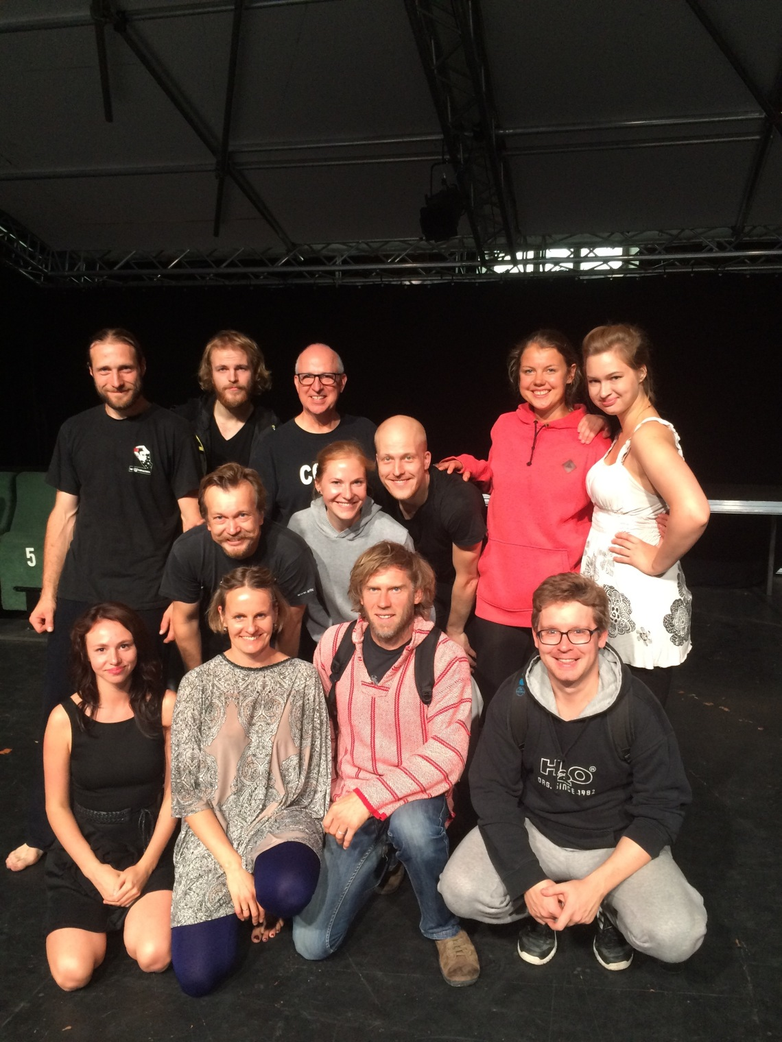 Richard Hess taught a Viewpoints Training master calss in Estonia.