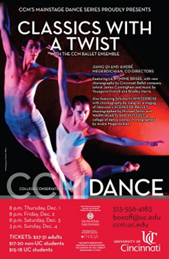 Tickets for Classics with a Twist are available through the CCM Box Office.