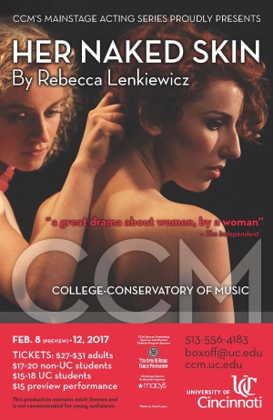 'Her Naked Skin' plays Feb. 8-12 at CCM.