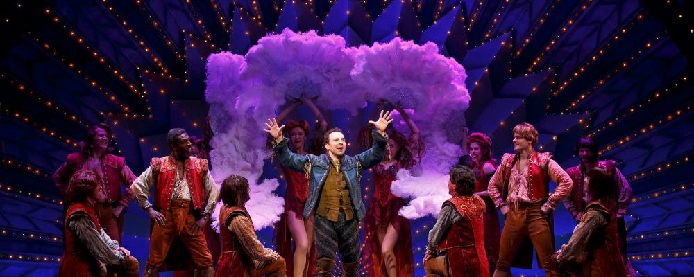 Production photo of 'Something Rotten!' by Joan Marcus. Provided by Gabriel Firestone.