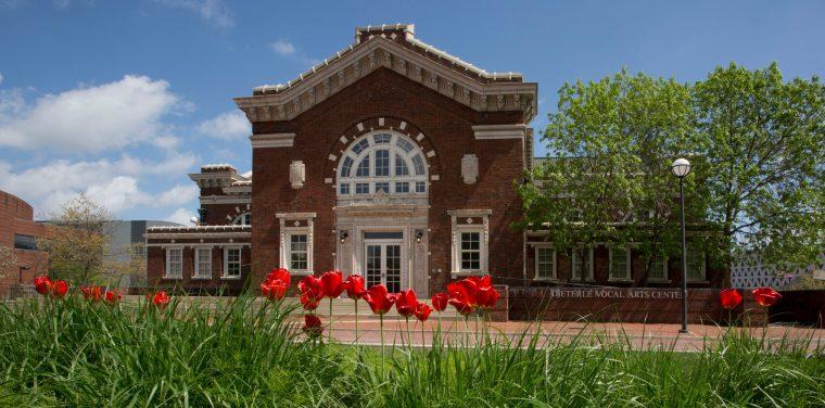 Spring scenes on campus, CCM.