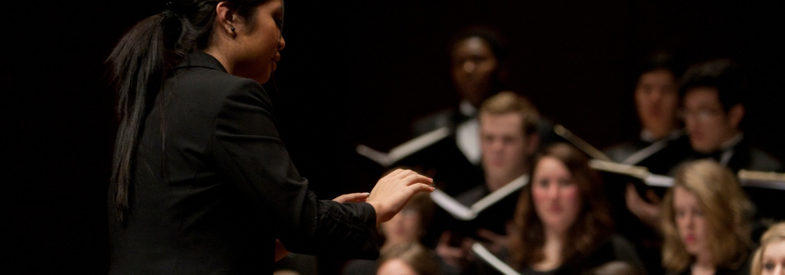 CCM Summer hosts the Choral Conducting Master Class and Workshop July 10-14, 2017.
