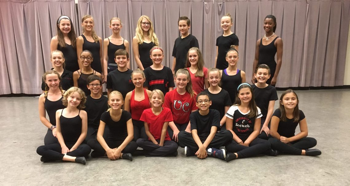 2016-2017 Junior Musical Theatre Intensive Performance Troupe