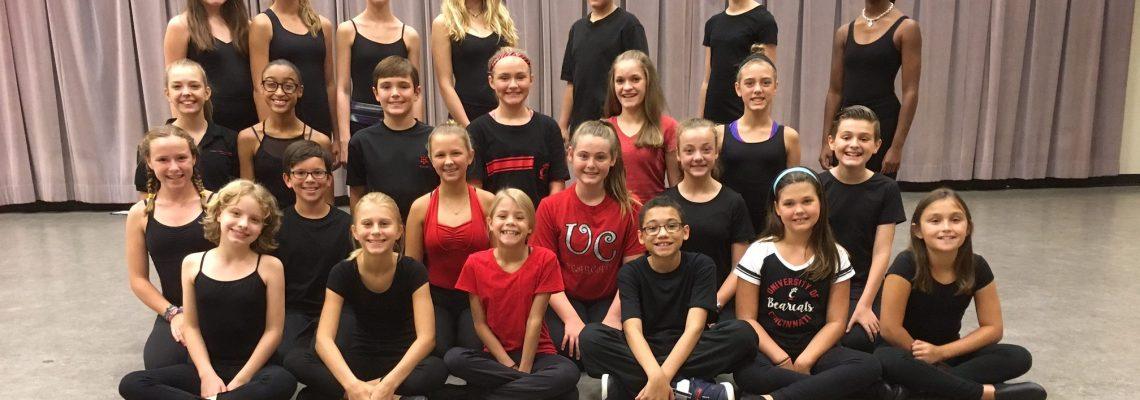 2016-2017 Junior Musical Theatre Intensive Performance Troupe