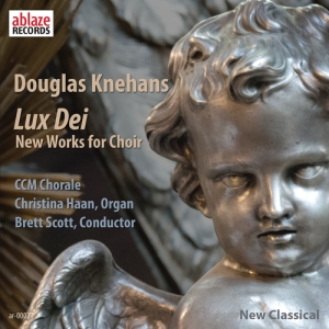 "Knehans' ""Lux Dei"" choral music album is available for purchase through Ablaze Records."