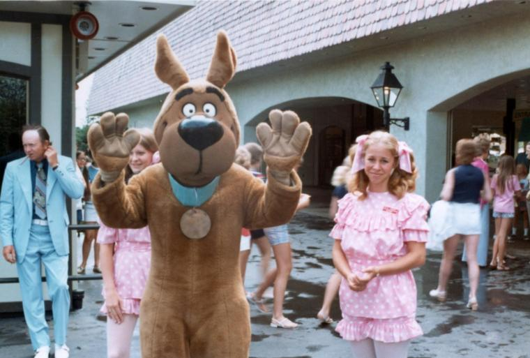 As Character Supervisor at Kings Island, Kent repaired character costumes like Scooby Doo and Yogi Bear.
