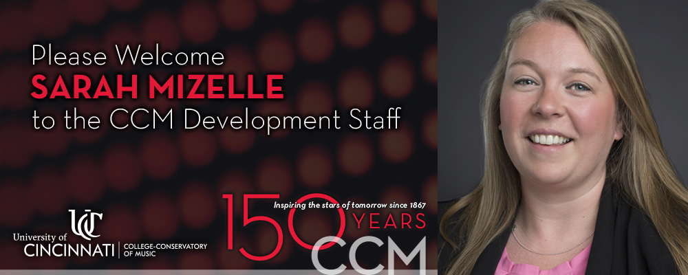 CCM Director of Development Sarah Mizelle