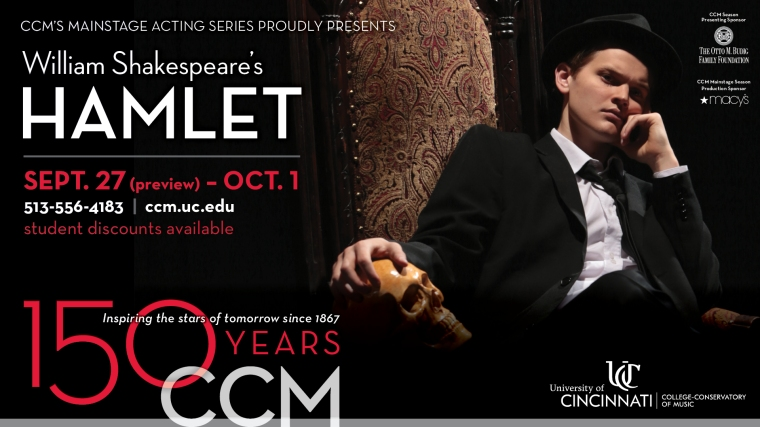 CCM Opens 150th Anniversary Mainstage Series with 'Hamlet'