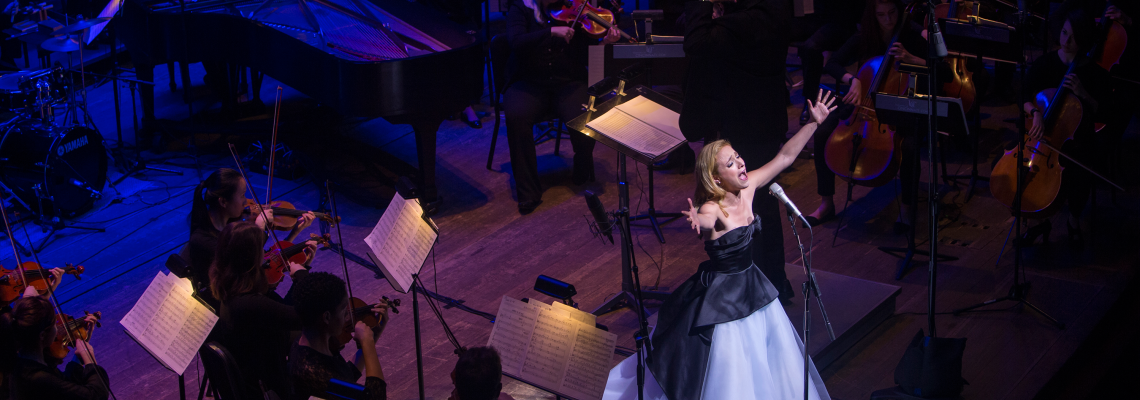 CCM alumna Christy Altomare performs during Moveable Feast 2017.