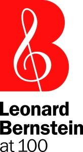 Leonard Bernstein at 100 logo.
