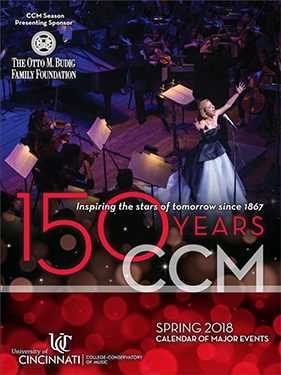 Click the image to view the digital version of CCM's Spring 2018 Calendar.