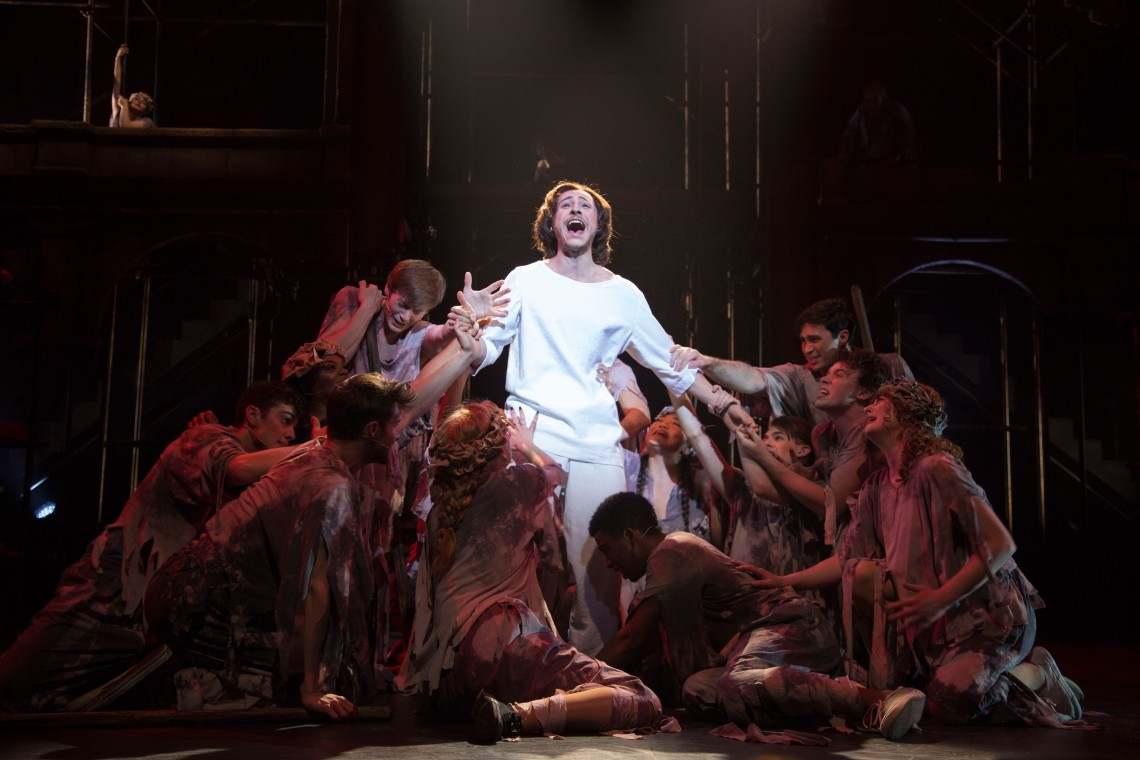 "CCM's musical theatre stars of tomorrow present ""Jesus Christ Superstar"" on Thursday, Feb. 22 through Sunday, March 4, 2018."
