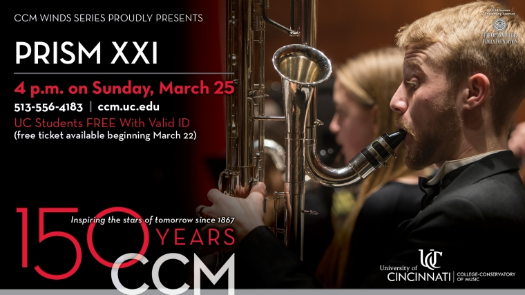 This edition of the annual crowd-pleasing concert includes students from CCM Jazz and CCM Preparatory.