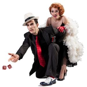 """""""Guys and Dolls"""" preview photography by Mark Lyons."""