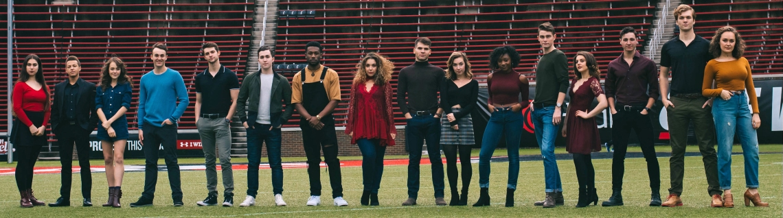 CCM Musical Theatre's Class of 2018.