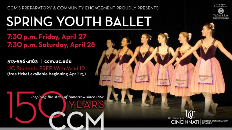 CCM Prep Spring Youth Ballet