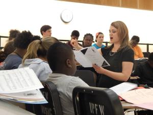 CCM Associate Professor of Music Education Eva Floyd.