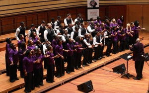 The Voices of Unity Youth Choir.