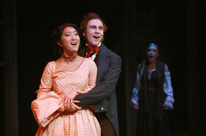 "CCM's 2014 production of ""Les Misérables"" featured Stephanie Jae Park, who is currently in the US tour of ""Hamilton,"" and Eric Geil, who is in the US Tour of ""Book of Mormon."""