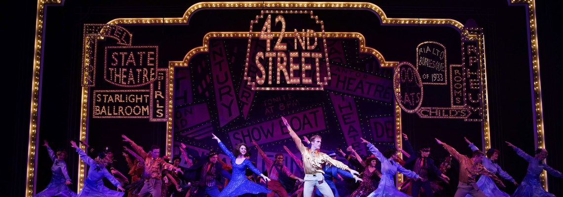 "CCMONSTAGE presents ""42nd Street"" Oct. 24-27, 2019. Photos by Mark Lyons."