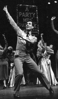 "Lee Roy Reams in Broadway's ""42nd Street."""