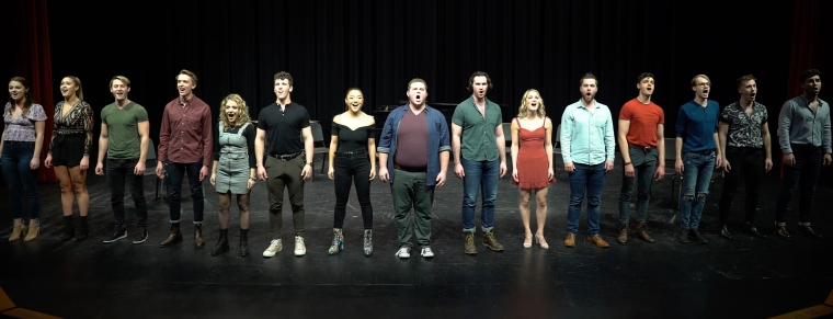 A group shot of CCM Musical Theatre's Class of 2020