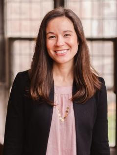 A portrait of new CCM faculty member Megan Steigerwald Ille.