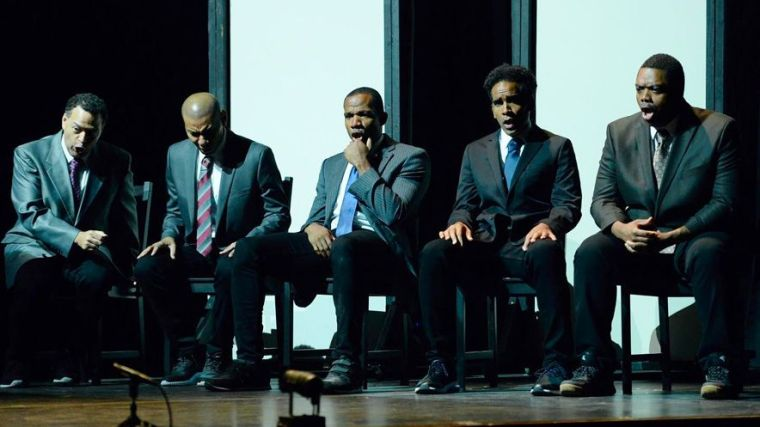 Long Beach Opera's production of The Central Park Five. Photo credit: Long Beach Opera