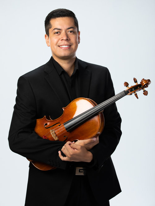 A portrait of CSO/CCM Diversity Fellow Cristian Diaz.